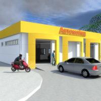 Монтаж водопроводу в технічному приміщенні СТО, автомийки