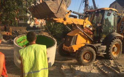 Монтаж наружной канализации в ЖК
