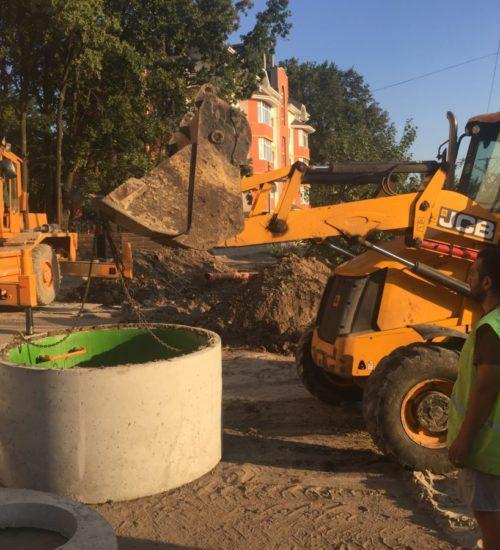 Установка каналізації, прокладка труб