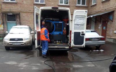 Методы прочистки труб канализации