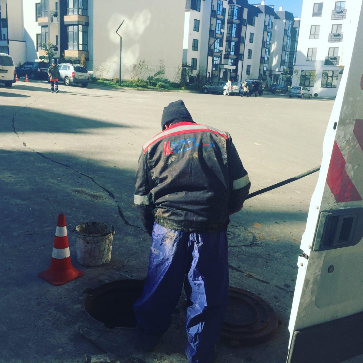 Прочистка канализации в ЖК «Уютный квартал»