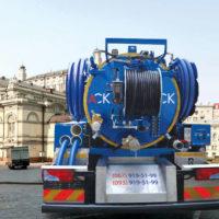 Очищення каналізації на фабриках, заводах і підприємствах