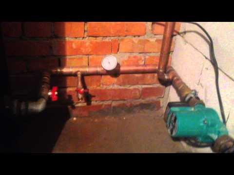 Монтаж системы отопления в много этажном доме